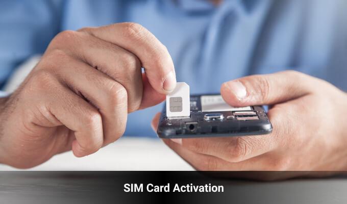 SIM Card Activation